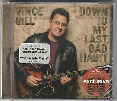 Vince Gill - Down To My Last Bad Habit -F.Sealed NEW CD SET FreeUK 1stClass P&P