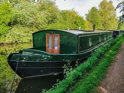 60 x 12 ' Foot Widebeam Liveaboard Canal Boat 2018  near London
