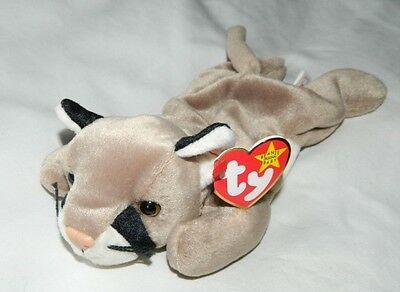 Nwt 1998 Ty Beanie Babies Baby Canyon Cat Kitten Mwmt Tag