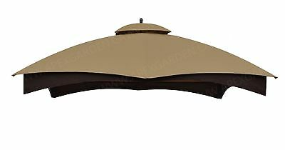 APEX GARDEN Replacement Canopy Top for the Lowes 10 x 12 Gazebo Model GF-12S004B