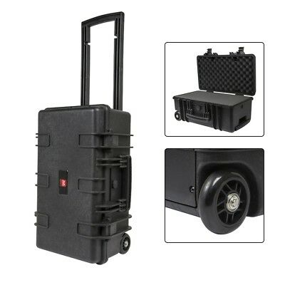 "Weatherproof Hard Travel Case w/ Customizable Foam For Camera & Accs 22""x14""x10"""