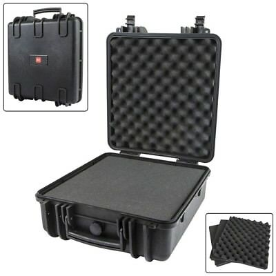 "Weatherproof Hard Travel Case w/ Customizable Foam For Camera & Accs 14""x16""x8"""