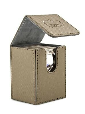 Ultimate Guard - FLIP DECK CASE XENOSKIN 80+ Sand - Cards Boxing - Gaming Boxing