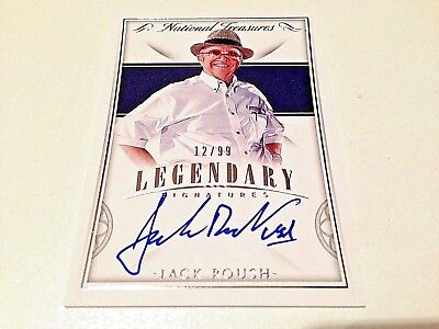 Jack Roush 2016 Panini National Treasures Legendary Signatures Autograph #/99