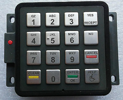 Gilbarco M08228B003 EPP keypad (white label) used / tested