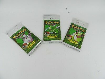 Pokemon Jungle Booster Pack - LONGTAB - RARE Sealed New - WOTC - Original