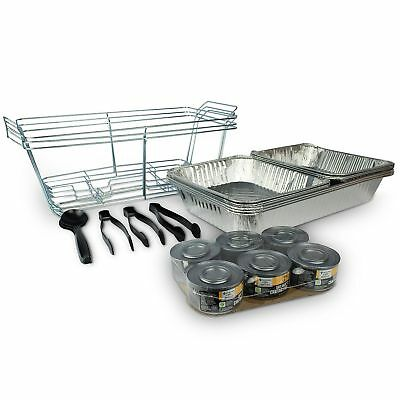 Aluminum Buffet Party Tray Warmers Kitchen Catering Hot Banquet Food Service