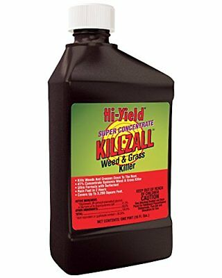 Hi-Yield Killzall: Weed and Grass Killer Concentrate 32 OZ 41% Glyphosate