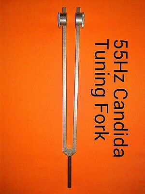NEW Candida Tuning Fork For Healing 55Hz for Detoxification+ free shipping