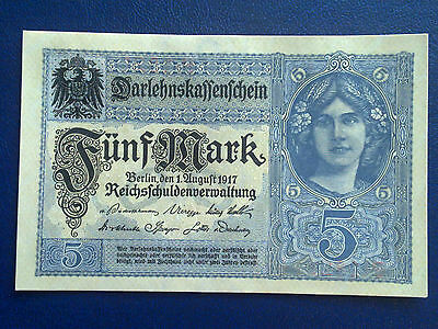 Germany - 5 Mark 1917 -  Unc(1)