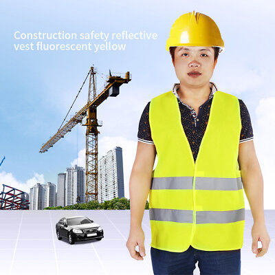 Safety Security High Visibility Reflective Vest Construction Traffic/Warehouse e