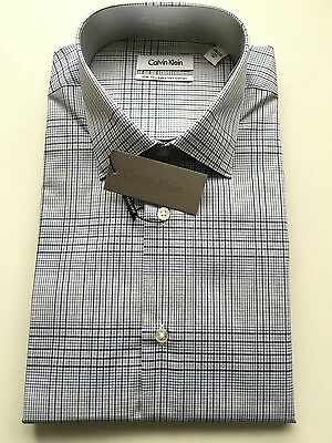 Calvin Klein Formal Shirt Size 43 Sleeve 92 Slim Fit Business CK New with tags