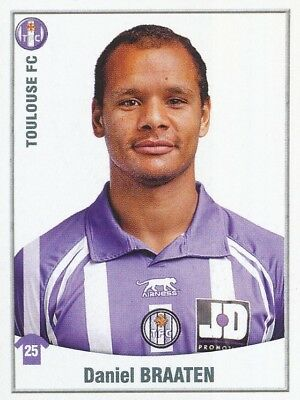 481 Daniel Braaten Norway Norge Toulouse.fc Tfc Sticker Foot 2011 Panini