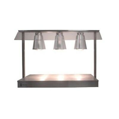 Parry C3LU Heated Carvery Servery Base with Three Heat Lamps (Boxed New)