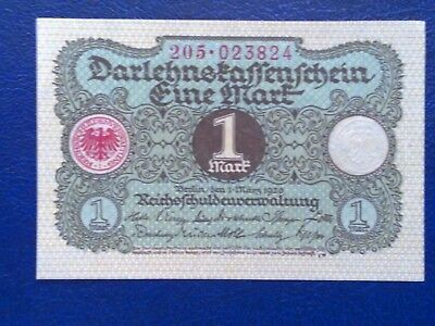 Germany - 1 Mark 1920 -  Aunc