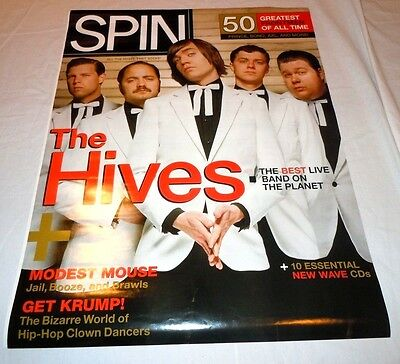THE HIVES~Spin~Promo Poster~18x24~Excellent~Brand New Condition