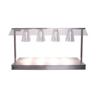 Parry C4LU Heated Carvery Servery Base with Four Heat Lamps (Boxed New)