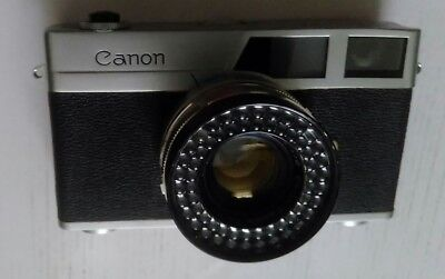 Vintage Working Auto/Manual Canonet + SE 45/1.9 + Case (faulty)