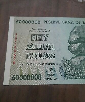 Fifty million dollars UNC