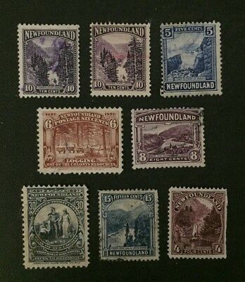 Newfoundland Stamp Selection of Used