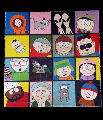 Collectible South Park MOUSE PAD Comedy Central 1998 cartoon many characters