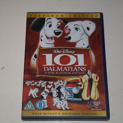 DVD Disney's 101 Dalmatians (2-Disc Platinum Edition) [DVD] [1961]