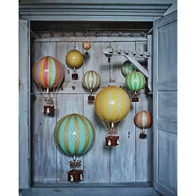 Hot Air Balloons Balloon, Authentic Models Travels Light Home Decor, Color