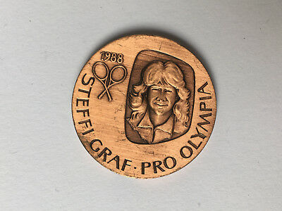 Medaille Steffie Graf - Pro Olympia 1988