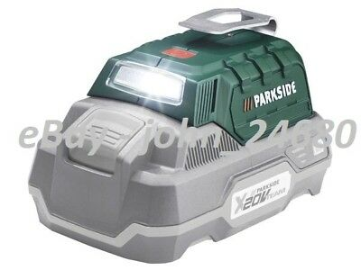 USB Adaptor Charger For Parkside Cordless Drill Battery 20V Team Power Bank