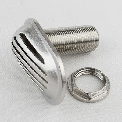 """1"""" Stainless Steel 316 Threaded Thru Hull Fitting Intake Strainer For Boat Able"""