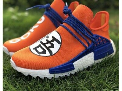 new product 4bc04 36cff ADIDAS PHARRELL WILLIAMS/GOKU Human Race Running Shoes - DragonBall Z