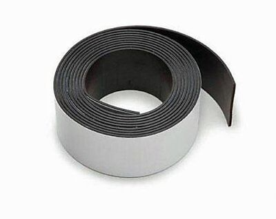 New Super Strength Self Adhesive Strong Magnetic Strip Tape 5' Roll Craft Magnet