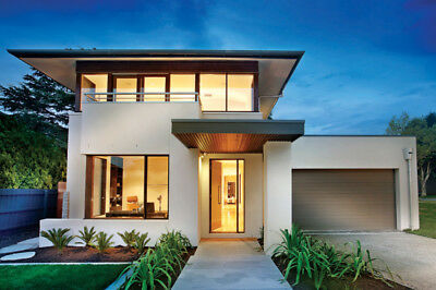 Modern House Plan PDF total 4020 SF New Smart Home Complete House Plan 2-story