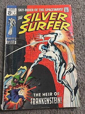 The Silver Surfer #7 (Aug 1969, Marvel)