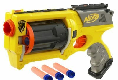 NERF maverick N-STRIKE (discontinued by manufacturer)yellow all darts super rare