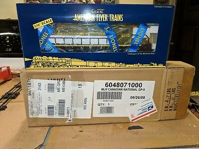 American Flyer S Scale 6-48071 Canadian National GP-9 C-9 W/OB