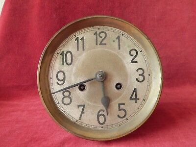 Old Large Brass Clock Workings S/R