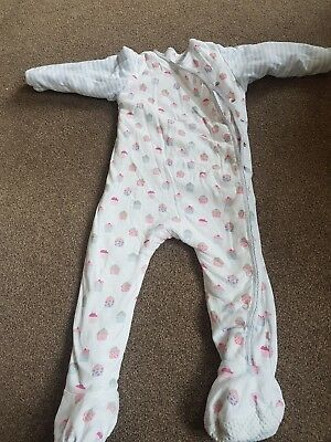 Girls mothercare padded sleepsuit 24-36 months