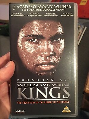 When We Were King's - Muhammad Ali VHS