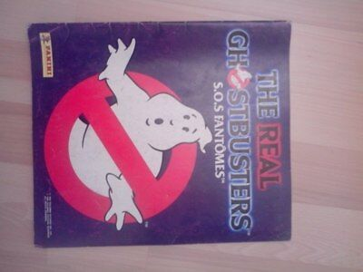 THE REAL GHOSTBUSTERS S.O.S. Fantomes 1988 Album PANINI (à compléter)