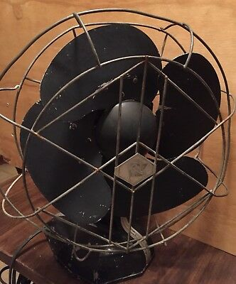 Vintage Robbins And Meyers Art Deco Electric Fan