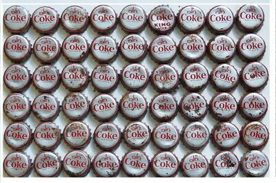 (54) 1964-65 Coca Cola New York World's Fair Coke Bottle Caps with cork insides