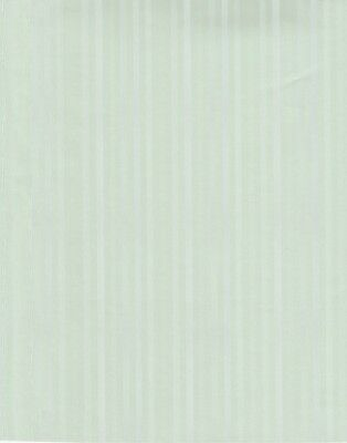 "Dollhouse Miniature Wallpaper Sage Green Stripe 20.5"" x 10.5"" Sheet ~ 699.30"