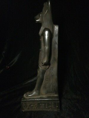 ANCIENT EGYPTIAN ANTIQUE STATUE Sekhmet Goddess EGYPT Pharaonic Carved STONE BC