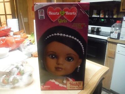NEW!! Hearts For Hearts Girls Nahji from India Doll