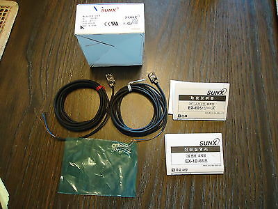 New Sunx Ex-13Ead & Ex13Ep Photoelectric,  Made In Japan