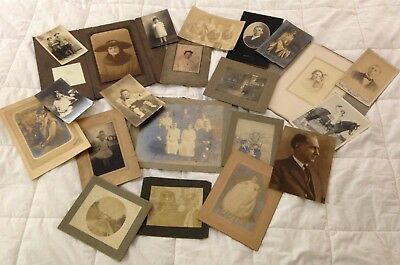 Large Lot of Vintage Photographs from the 1900's Black & White Photos