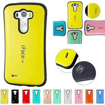 Shockproof iFace mall Heavy Duty Hard Case Cover For LG G2/3/4/5/6 GPRO2 Spirit