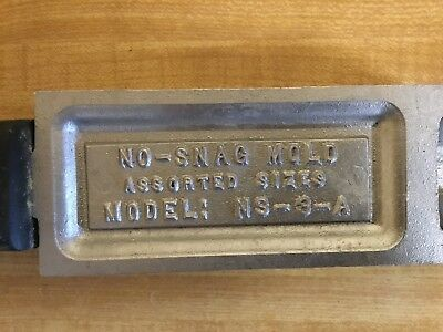 DO-IT No snag sinker mold.Model NS-3-A Lead Making   Made in USA