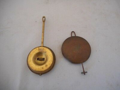 Two Antique Clock Pendulums Spares & Repairs